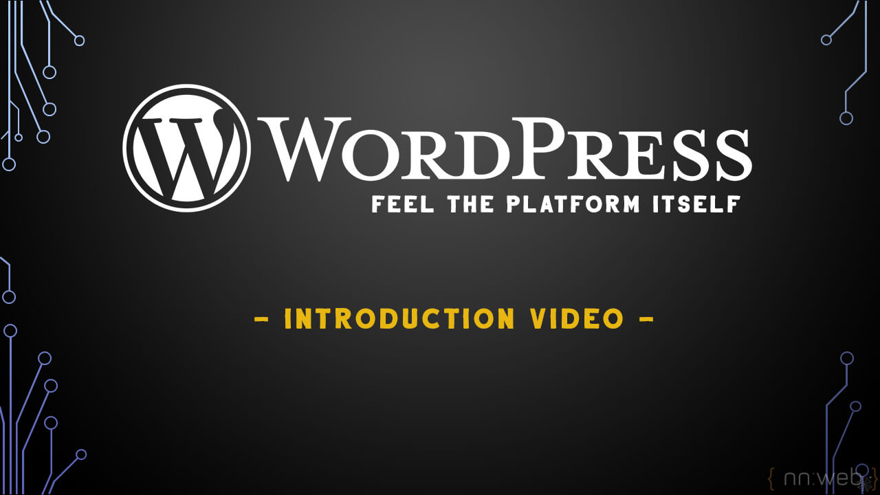 First Step in WordPress